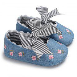 C - 477 Spring Autumn 0 - 1 Year Old Girl Flower Non-slip Baby Toddler Shoes -
