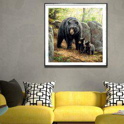 DIY Bear Diamond Painting 5D Three-dimensional Painted for Children's Bedroom Decoration -