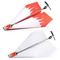 Motor Electric Hand Throwing Paper Airplane Model DIY Power Module Kit -