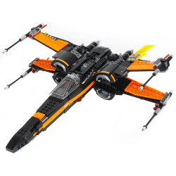 LP - 05004 Science Fiction Series X Wing Fighter Children Puzzle Assembled Building Blocks 748pcs -