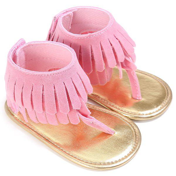 C - 328 Girl Tassels Pinch Sandals Baby Toddler Shoes