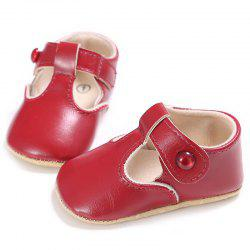 C - 296 0 - 1 Years Old Female Baby Soft Bottom Toddler Shoes -