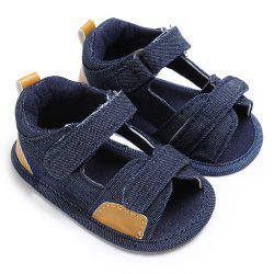 C - 333 0 - 1 Year Old Baby Sandals Soft Bottom Toddler Shoes -
