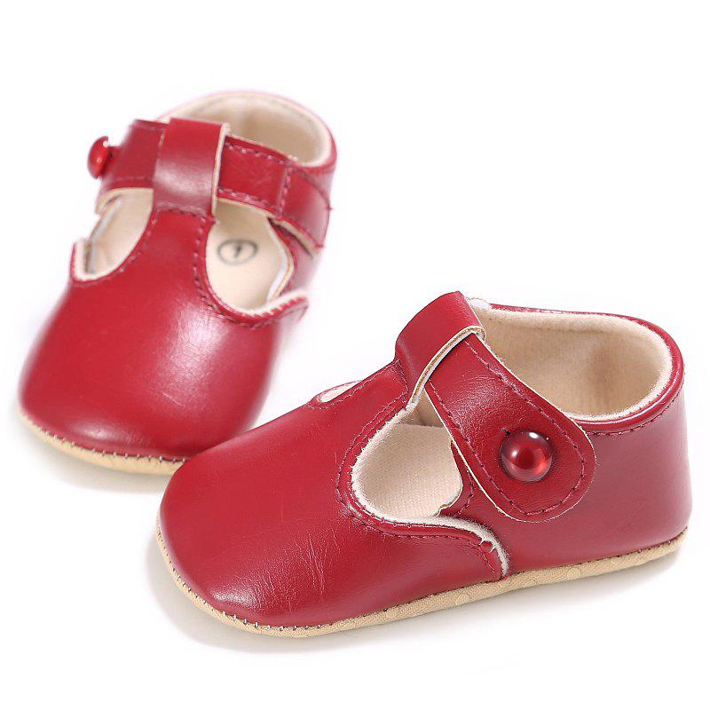 Latest C - 296 0 - 1 Years Old Female Baby Soft Bottom Toddler Shoes
