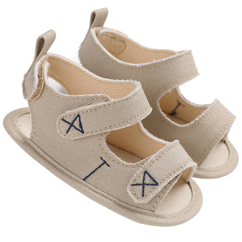 Outfits C - 454 Summer 0 - 1 Year Old Silicone Sandals Baby Toddler Shoes