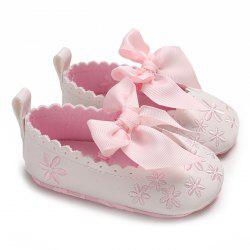 c - 534 Baby Casual Soft Sole Girls Bowknot Anti-slip Toddler Shoes for 0 - 1 Years Old -