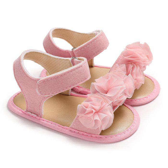 C - 525 Female Baby Sandals Silicone Bottom Non-slip Toddler Shoes