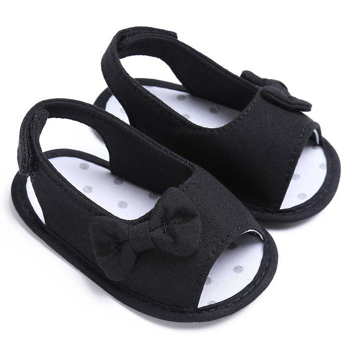 Affordable Cute Girl Baby Bowknot Sandal Prewalker