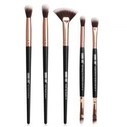 MAANGE MAG5747 Makeup Brushes Set Premium Synthetic Foundation Blending Face Powder Concealers Eye Shadows Tools Kit -