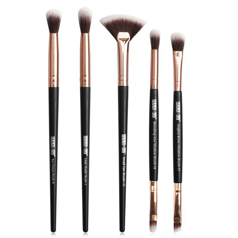 Shops MAANGE MAG5747 Makeup Brushes Set Premium Synthetic Foundation Blending Face Powder Concealers Eye Shadows Tools Kit