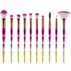 ZAFUL Eyes Makeup Brushes Set Premium Eye-shadows Make Up Tools 10pcs -