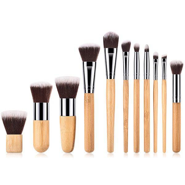 ZAFUL Makeup Brushes Set Premium Synthetic Foundation Blending Face Powder Concealers Eye Shadows Make Up Tools 11pcs