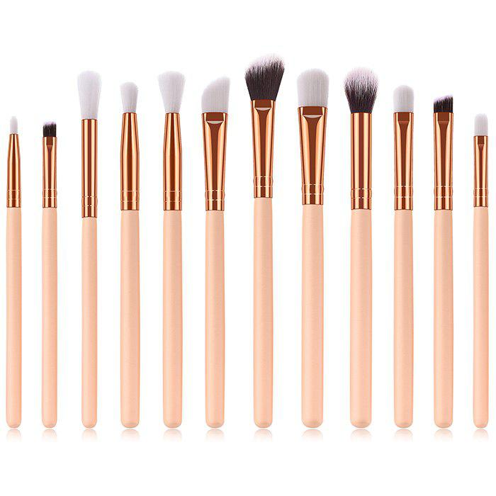 ZAFUL Eyes Makeup Brushes Set Premium Eye-shadows Make Up Tools 12pcs