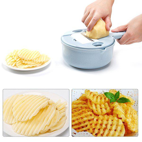 Outfits Kitchen Round Potato Grater Multifunctional Vegetable Cutter