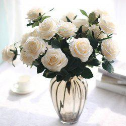 French Rose Bouquets for Home Decoration Holiday Gifts -