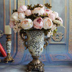 Peony Artificial Bouquet Home Decration -