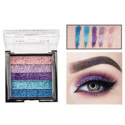 ME0061 5 Color Beauty Waterproof Long-lasting Natural Glitter Stage Makeup Eye Shadow Tray -