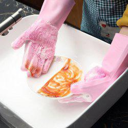 Multi-function Non-slip Insulation Cleaning Brush Kitchen Durable Gloves -