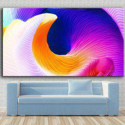 Single Painting Dreamy Color Print -