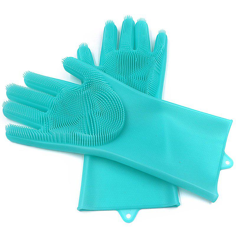Cheap Multi-function Non-slip Insulation Cleaning Brush Kitchen Durable Gloves