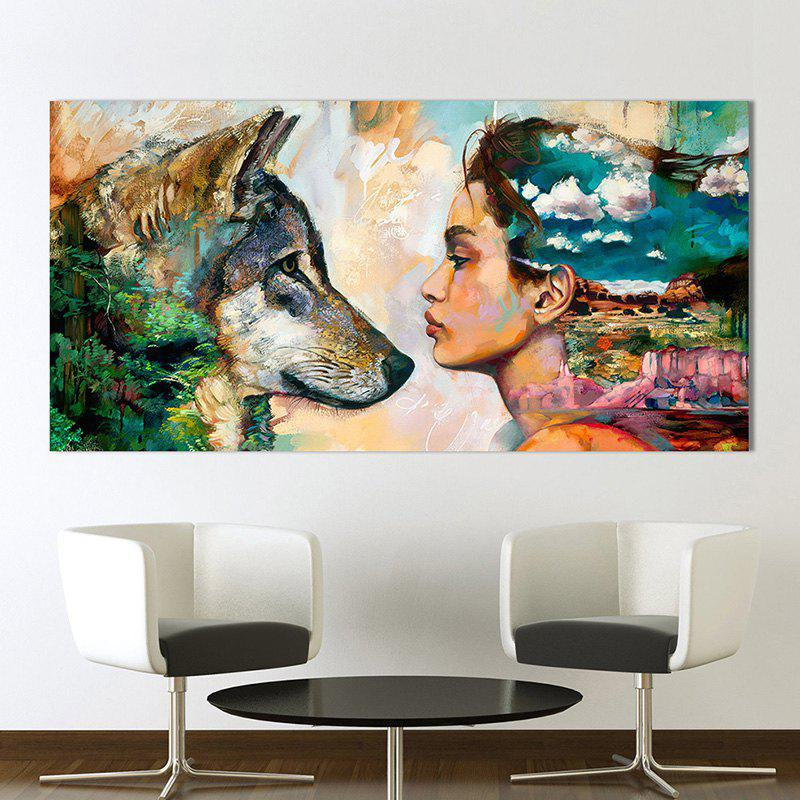 Outfit Home Decoration Single Abstract Print