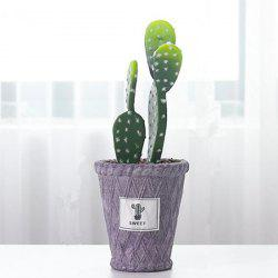 Simulation Home Decoration Cactus Plant Pot -