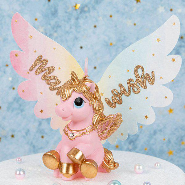 Cute Unicorn Shape Candle