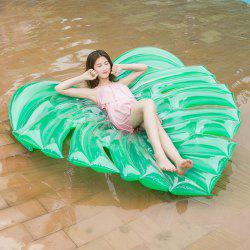 Green Leaf Shape Inflatable Floating Bed -