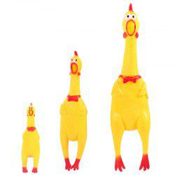 Screaming Chicken Presses Vocal Toy -