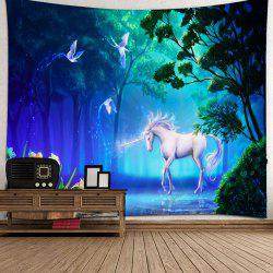 Dream Forest Unicorn Tapestry -
