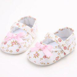 C - 205 Baby Girl Princess Soft Bottom Toddler Shoes -