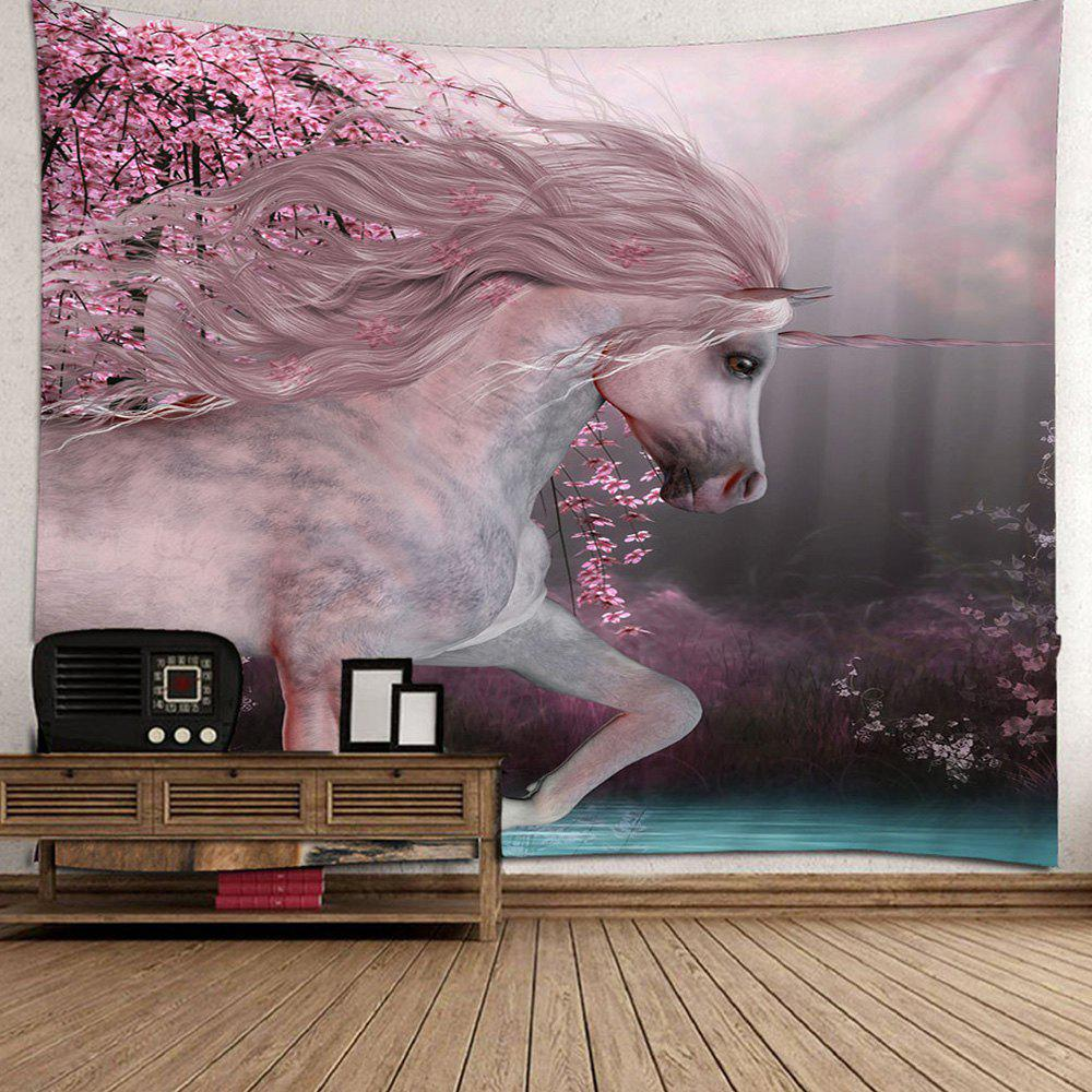 Trendy Beautiful Unicorn Home Decoration Tapestry