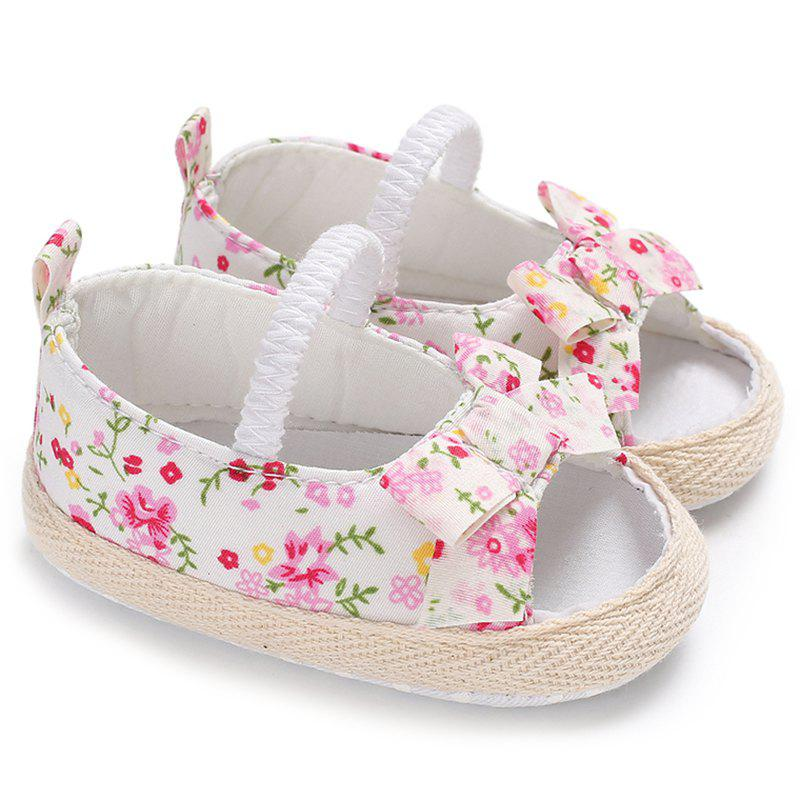 Shop B50 Summer 0 - 1 Year Old Female Baby Soft Bottom Non-slip Sandals Baby Toddler Shoes