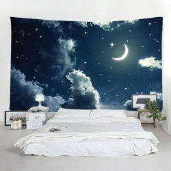 Moon Cloud Starry Tapestry Home Decoration -