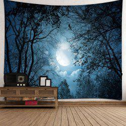 3D Forest Star Tapestry Home Decoration -