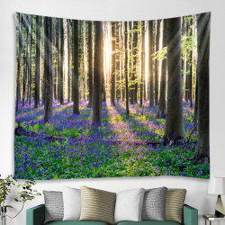 Simple Forest Pattern Tapestry -