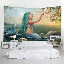 3D Mermaid Fashion Decorative Tapestry -