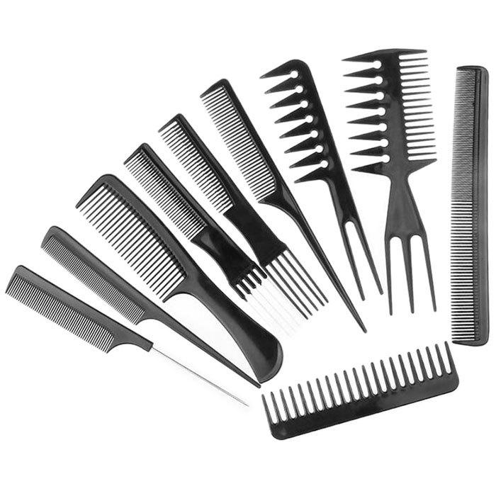 Trendy ZAFUL Beauty Comfortable Hair Comb 10pcs