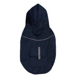 Summer Dog Double Layer Windproof Hooded Raincoat -