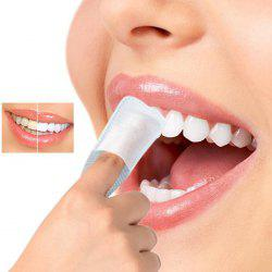 Oral Brush Deep Cleaning Dental Whitening Tooth Wipe Cloth 40pcs -