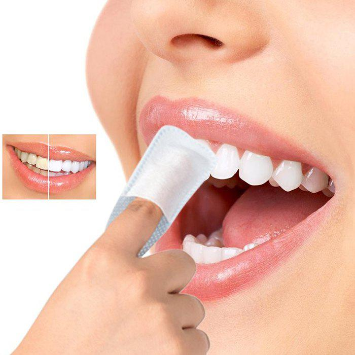 Chic Oral Brush Deep Cleaning Dental Whitening Tooth Wipe Cloth 40pcs