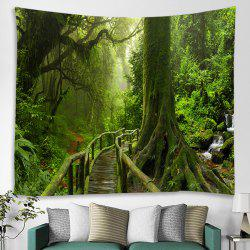 Wooden Bridge Printing Tapestry -