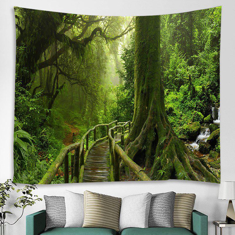 Shop Wooden Bridge Printing Tapestry
