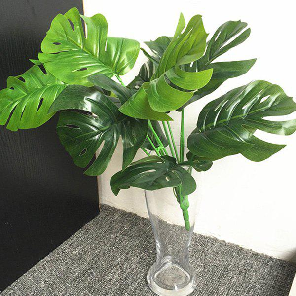 Plante d'Art Décoratif de Feuilles de Tortue Vert Jungle