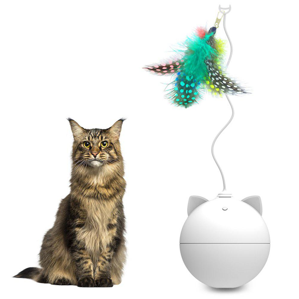 Sale BENTOPAL P02 Automatic Funny Cat Toy Feather Version