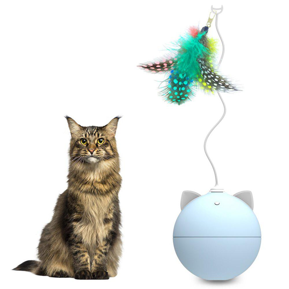 Trendy BENTOPAL P02 Automatic Funny Cat Toy Feather Version