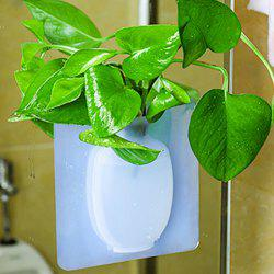 Silicone Sticker Free Punch Wall Vase -