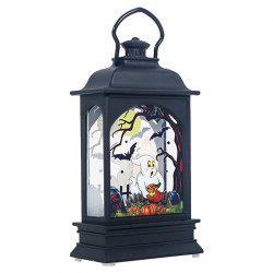 Halloween Subject LED Candle Transparent Wind Light -