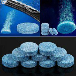 Condensed Effervescent Tablet Wiper Glass Cleaner -