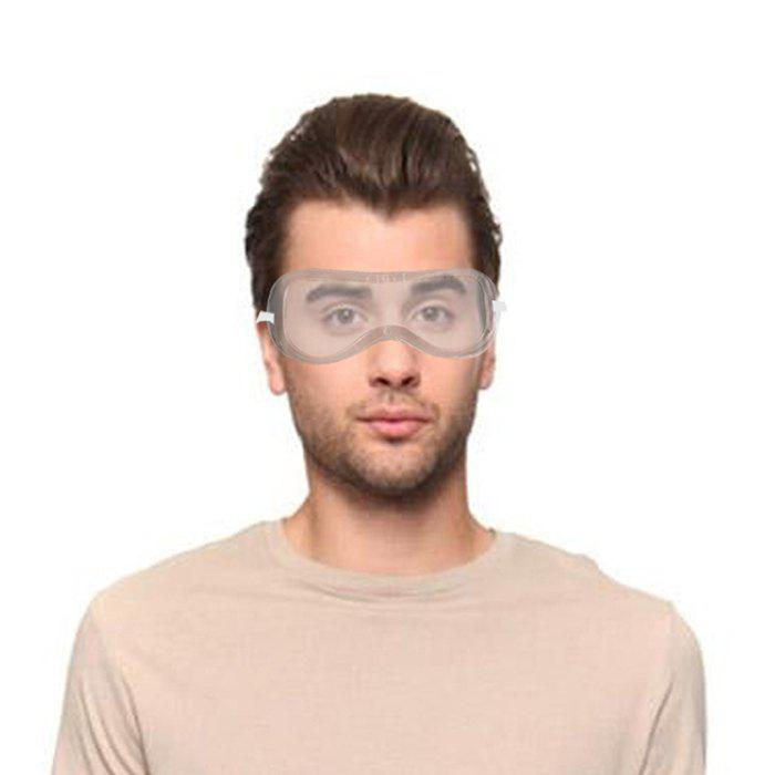 Buy Anti-dust Splash Goggles Dust-proof Wind Sandproof Shock Resistant Glasses Protective Goggles